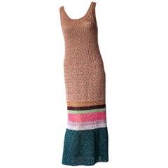 Missoni Metallic Crochet Resort Dress