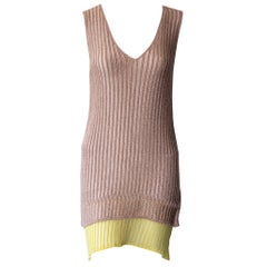Missoni Gold and Yellow Knit Dress