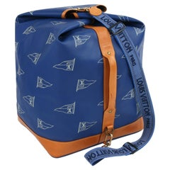 "LOUIS VUITTON c.1992 ""Sac Marin Bandouliere"" LV America's Cup Travel Bag LTD ED"