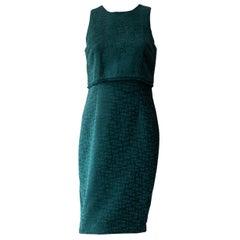 Karl Lagerfeld Emerald Shift Dress