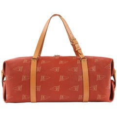 "LOUIS VUITTON c.1995 ""Kabul"" LV America's Cup 2-in-1 Garment Duffel Bag Ltd Ed"