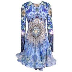 Alexander McQueen Spring 2010 Plato's Atlantis Graphic Bubble Hem Dress