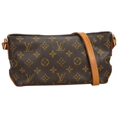 Louis Vuitton Brown Monogram Trotteur