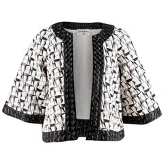 Chanel abstract-jacquard jacket US 6
