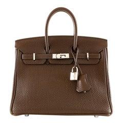 Hermès Cocoan Brown Togo 25 cm Birkin Bag