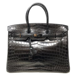 Sac Hermès Birkin 35 So Black Edition