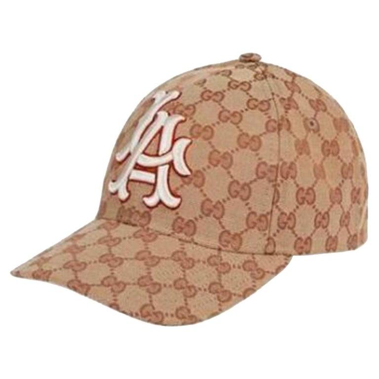 ea1cbd1e2de Gucci LA Angels GG Supreme Baseball Hat at 1stdibs