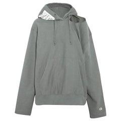 Vetements + Champion Cutout Cotton-Blend Jersey Hoodie