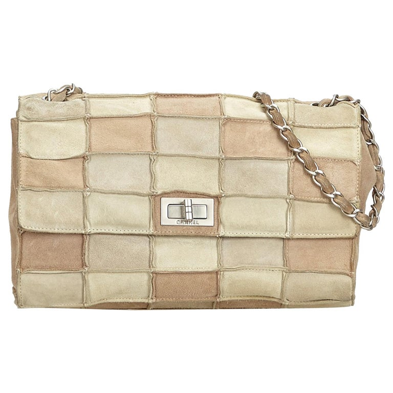 e2d91e227038 Chanel Brown Reissue Patchwork Flap Bag at 1stdibs
