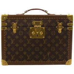 Louis Vuitton Vintage Monogram Travel Trunk Case