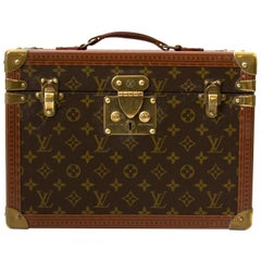 Louis Vuitton Monogram Travel Trunk Case