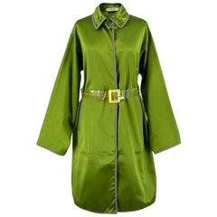 Prada Belted Silk Jacket US 8