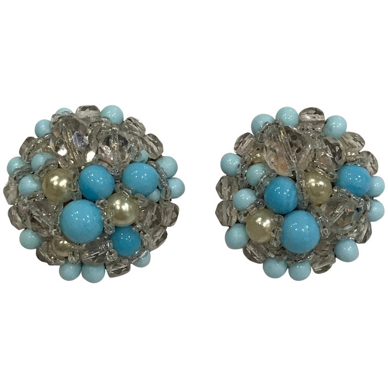 Coppola e Toppo Crystal  Earrings For Sale