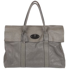 Mulberry Bayswater Sparkle Tweed Leather - mole grey
