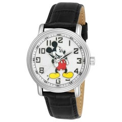 Disney Limited Edition Invicta Round Analog Mickey Mouse Watch