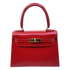 Red Top Handle Bags