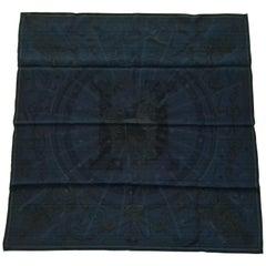 Hermès Silk Scarf C'est la Fete Surteint Marine Daisuke Nomura 70cm GRAIL