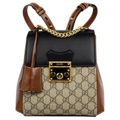 dac3f6c250a8 Gucci 2018 Floral Satin Large Backpack Bag W/ NY Yankees Patch For ...
