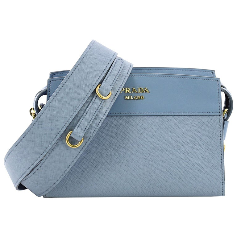 674b971adfcda4 Prada Esplanade Crossbody Bag Saffiano Leather Small For Sale at 1stdibs