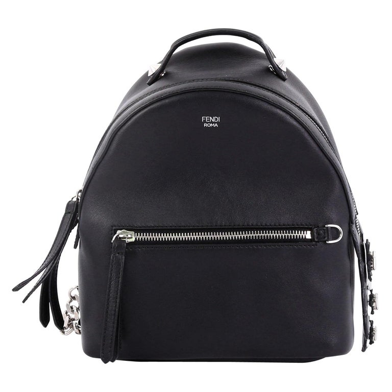 50b67b9b84 Fendi By The Way Backpack Leather with Crystals Mini