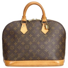 Louis Vuitton Brown Monogram Alma PM