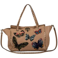 Valentino Limited Edition  Butterfly Rockstud Bag