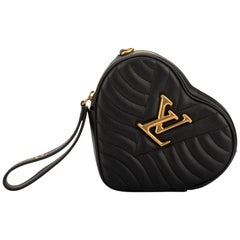 New in Box Louis Vuitton Limited Edition Black Heart Crossbody Bag