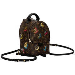 New in Box Louis Vuitton Limited Edition Mini Logo Backpack Bag