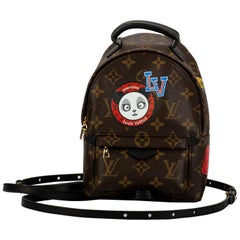 New in Box Louis Vuitton Limited Edition Stickers Mini Backpack