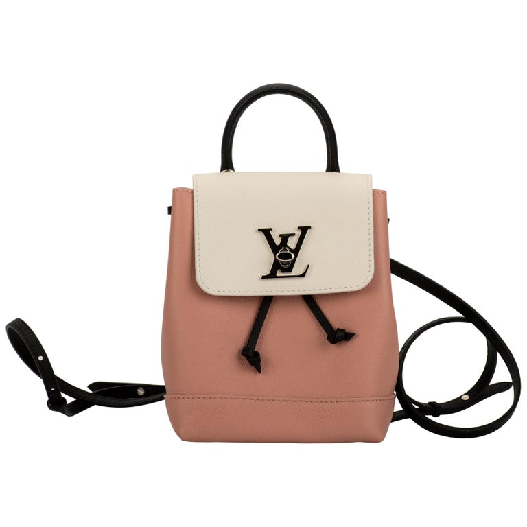 New in Box Louis Vuitton Tricolor Lockme Backpack For Sale
