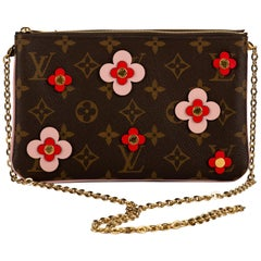 New in Box Louis Vuitton Crossbody Flower Pouchette Bag