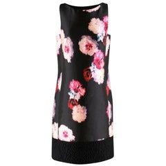 Giambattista Valli floral-jacquard sleeveless shift dress US 8