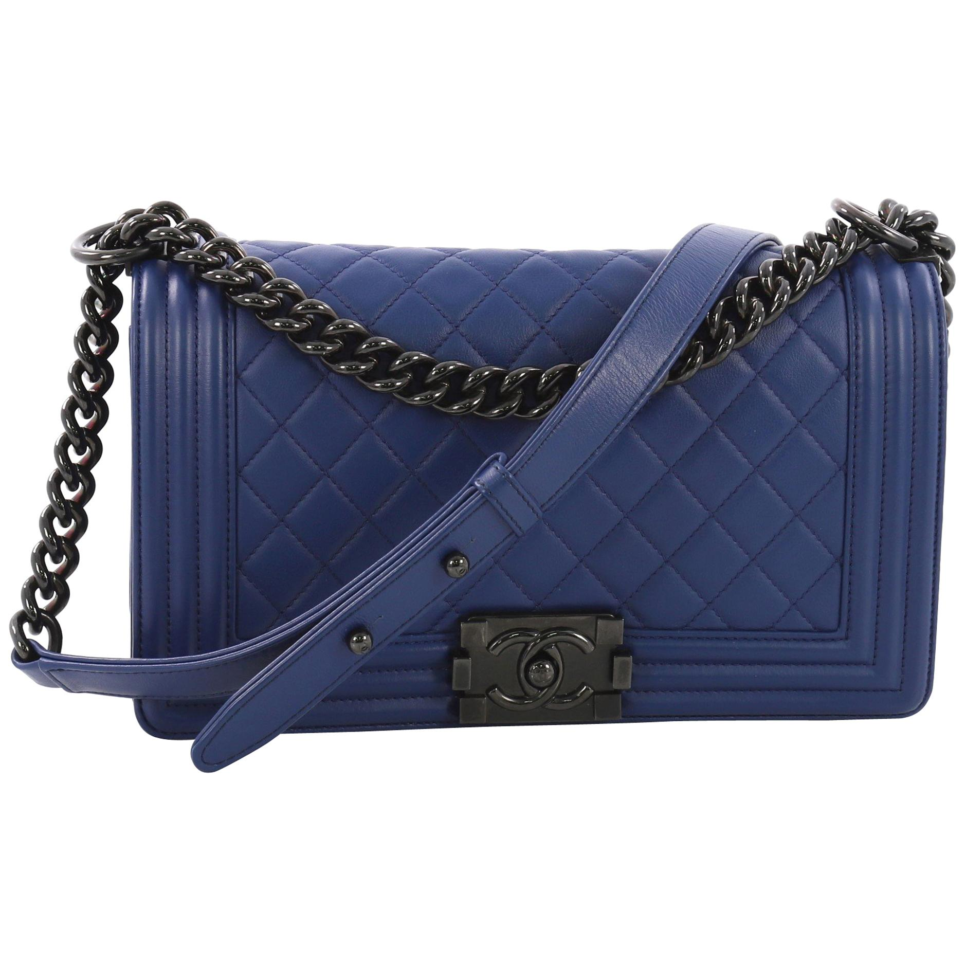 e741f172552b Chanel Boy Bags - 226 For Sale on 1stdibs
