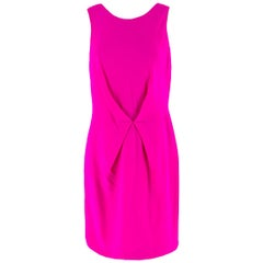 Versace Pink Gathered Mini Dress US 6