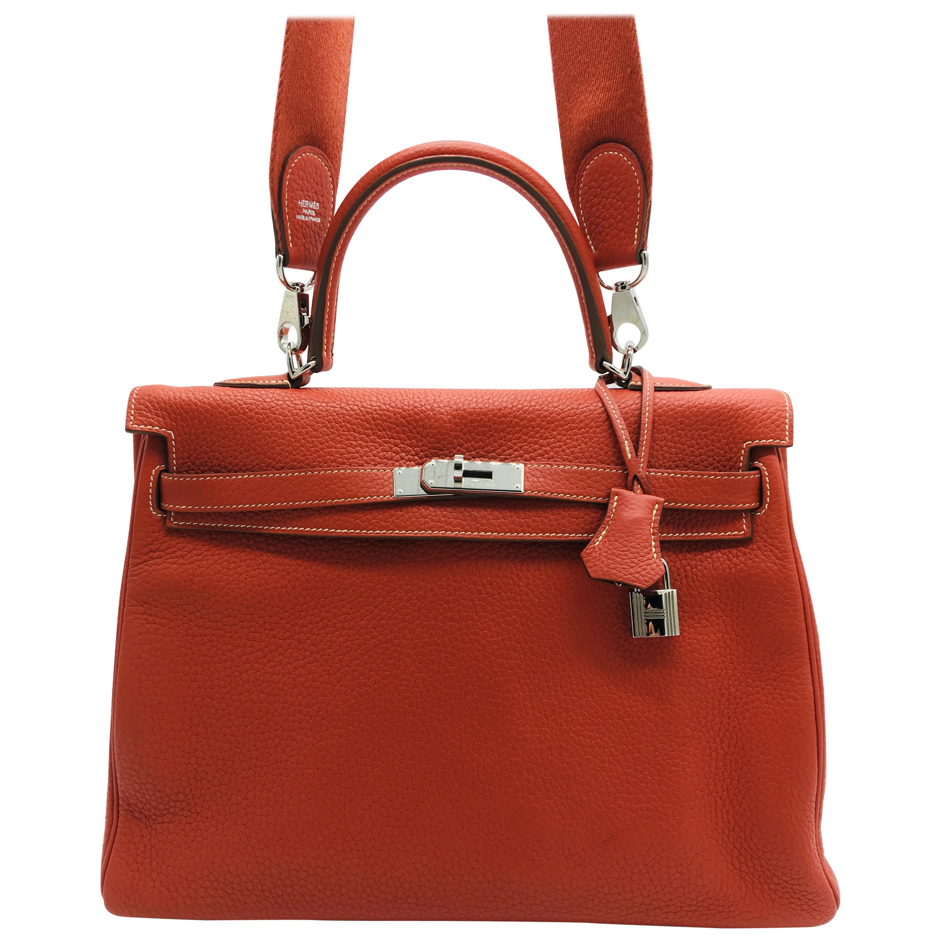 ec569a17fa Red Hermes Bags - 242 For Sale on 1stdibs