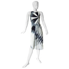 JP Gaultier 2001 Asymmetric dress as seen on the Runway and in AD campaign  New