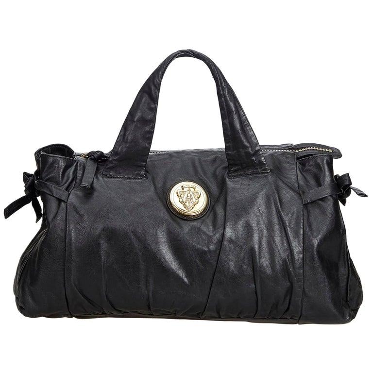 Gucci Black Leather Hysteria For Sale