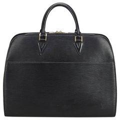 Louis Vuitton Black Epi Sorbonne