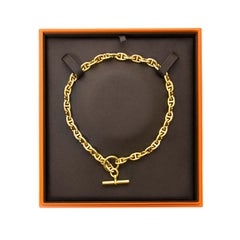 Hermès Collier Chain d'Ancre PM 18K Gold