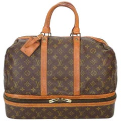 Louis Vuitton Sac Sport Monogram 229310 Brown Coated Canvas Weekend/Travel Bag