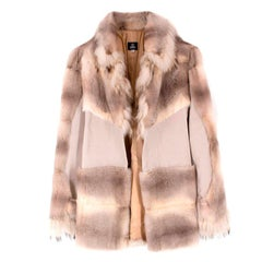 Versace Pahmi Fur Coat US 6