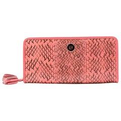 Loewe Python Leather Wallet