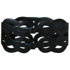 Azzedine Alaïa Cutout Leather Waist Belt