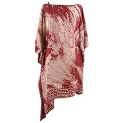 Loro Piana Silk Printed Kaftan Dress US 8