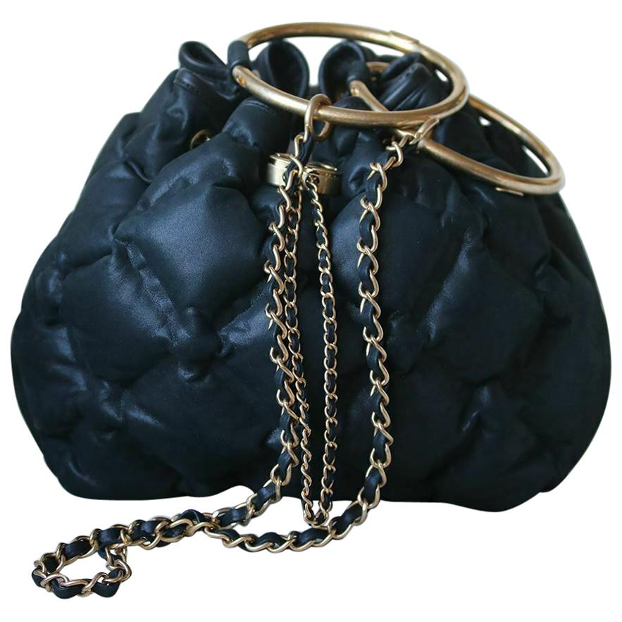 ba3e56ad2349 Chanel Cuba Cruise Leather Drawstring Bag For Sale at 1stdibs