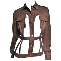 1980s Junior Gaultier Cage Jacket