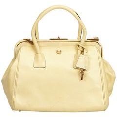 fe584b798b06 Prada Convertible Boston Bag Vitello Daino Medium at 1stdibs