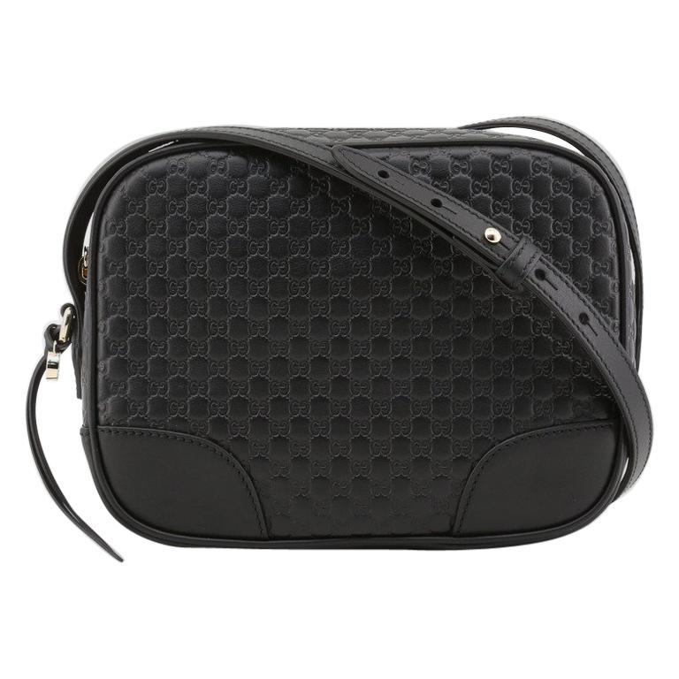 Gucci Women Crossover Bree Micro GG black 449413_3BMJ1G-1000 For Sale