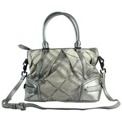 Silver Handbags and Purses