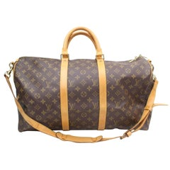 Louis Vuitton Keepall Duffle Monogram Bandouliere 50 869035 Weekend/Travel Bag